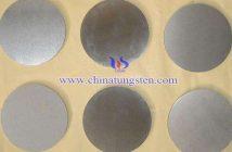 tungsten copper disc picture