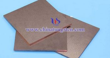 tungsten copper sheet picture