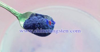 violet tungsten oxide nano powder applied for thermal absorption agricultural plastic film image