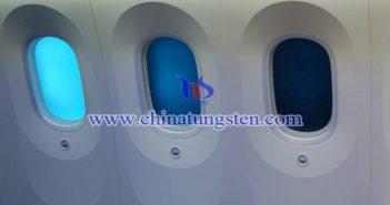 WO3 applied in electrochromic glass picture