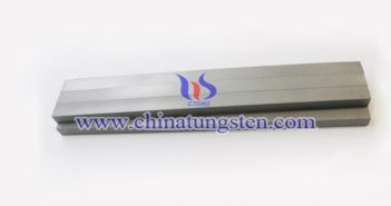 infusible tungsten alloy bar picture