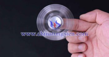tungsten alloy DIY hand spinner picture