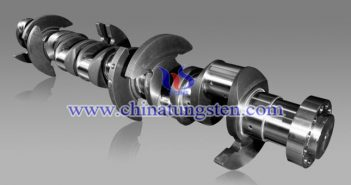tungsten alloy bar for crankshaft picture