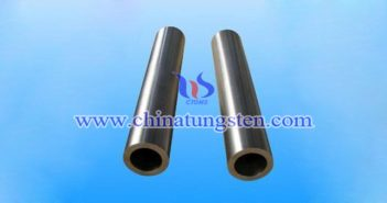 ASTM B777-15 class1 tungsten alloy tube picture