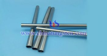 ASTM B777-15 class2 tungsten alloy tube picture