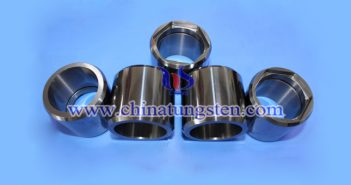 high temperature resistance tungsten alloy tube picture