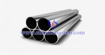 tungsten alloy round tube picture