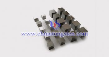 90W-6Ni-4Fe tungsten alloy brick picture