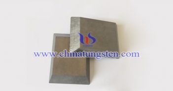 93W-4Ni-3Cu tungsten alloy brick picture
