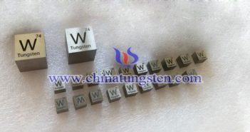 95W-3.5Ni-1.5Cu tungsten alloy brick picture