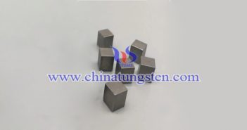 95W-3Ni-2Fe tungsten alloy brick picture