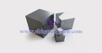 95W-4Ni-1Cu tungsten alloy brick picture