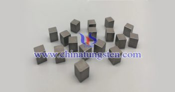 97W-2.1Ni-0.9Fe tungsten alloy brick picture