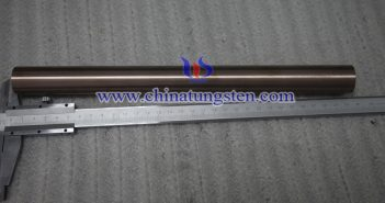 Ø12x200mm tungsten copper rod picture