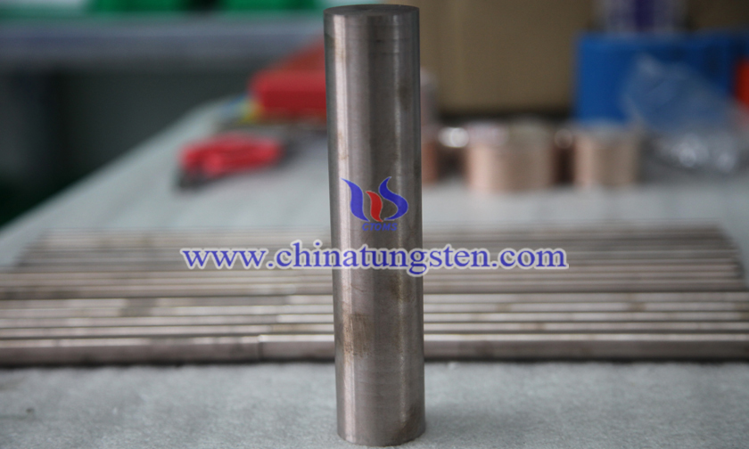 Ø12x200mm tungsten copper rod picture