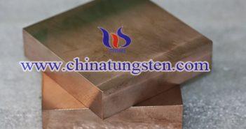 16×100×100mm tungsten copper plate picture