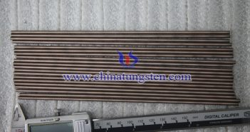 Ø4x200mm tungsten copper rod picture