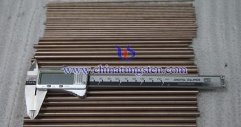 Ø6x200mm tungsten copper rod picture