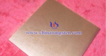 W85 Tungsten Copper Plate Picture