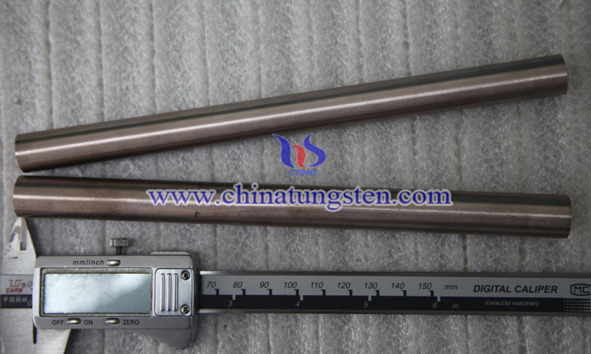 Ø9x200mm tungsten copper rod picture