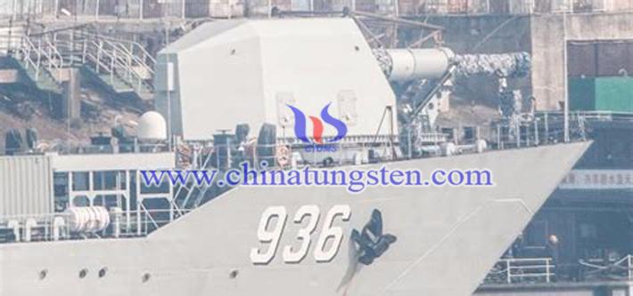 Chinese electromagnetic railgun picture