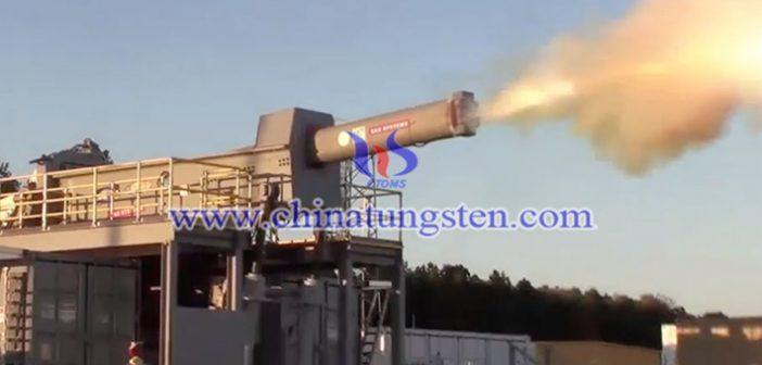 US Navy test fires futuristic railgun picture