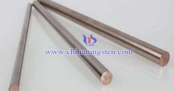 W55 tungsten copper rod picture