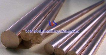 W60 tungsten copper rod picture
