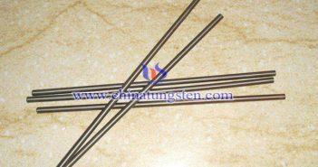 W75 tungsten copper rod picture