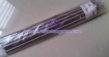 W80 tungsten copper rod picture