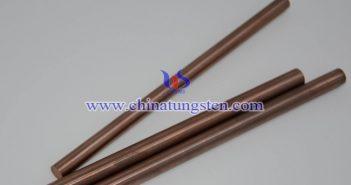 W90 tungsten copper rod picture