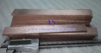 Tungsten Copper Bar Picture