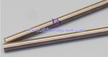 Tungsten Copper Electrode for Butt Welding Picture