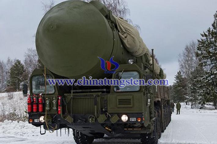 medium range missile picture