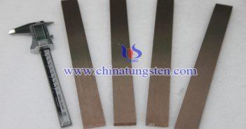 Tungsten Copper Support Plate Picture