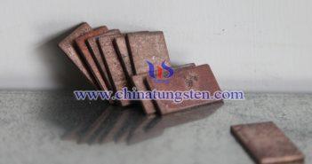 Tungsten Copper Board File Picture