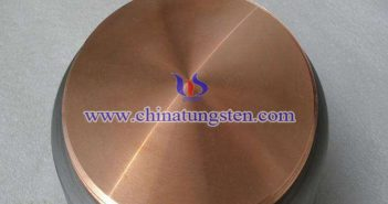 Tungsten Copper Disk Picture