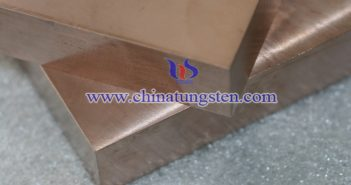 Tungsten Copper Weight Block Picture