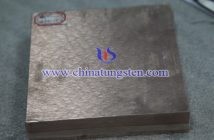 20×100×100mm Tungsten Copper Block Picture