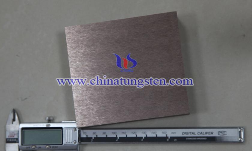 25×100×200mm Tungsten Copper Block Picture
