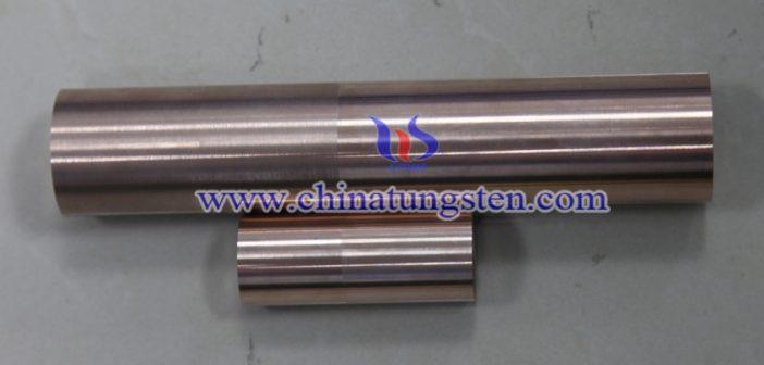 tungsten copper rod picture