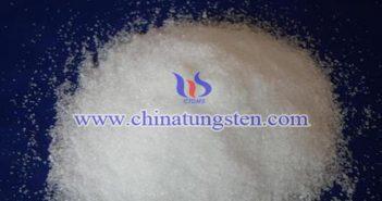 ammonium metatungstate powder applied for thermal insulation masterbatch image