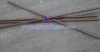 Tungsten Copper Electrode Picture