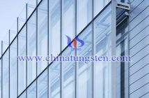nano WO3 applied for building glass energy saving coating picture