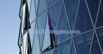 nano tungsten trioxide applied for energy saving glass coating picture