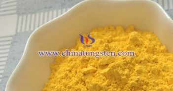 tungsten oxide applied for energy saving glass coating image