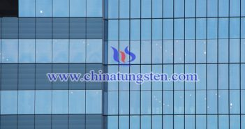 tungsten trioxide nanopowder applied for energy saving glass coating picture