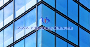 yellow tungsten oxide nanopowder applied for energy saving glass coating picture