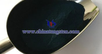 Cs0.33WO3 powder applied for functional film image