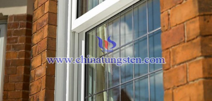 Tungsten Bronze Composite Material Applied for Energy-saving Window